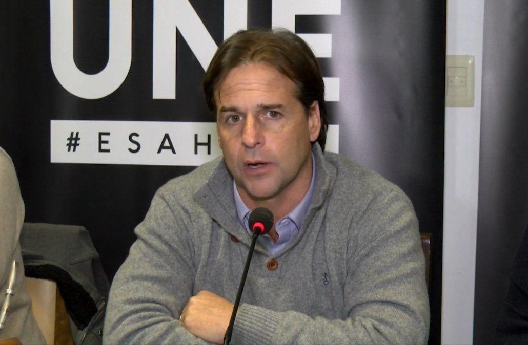 Lacalle Pou presentó a algunos de sus ministros y adelantó que él se ocupará de la seguridad