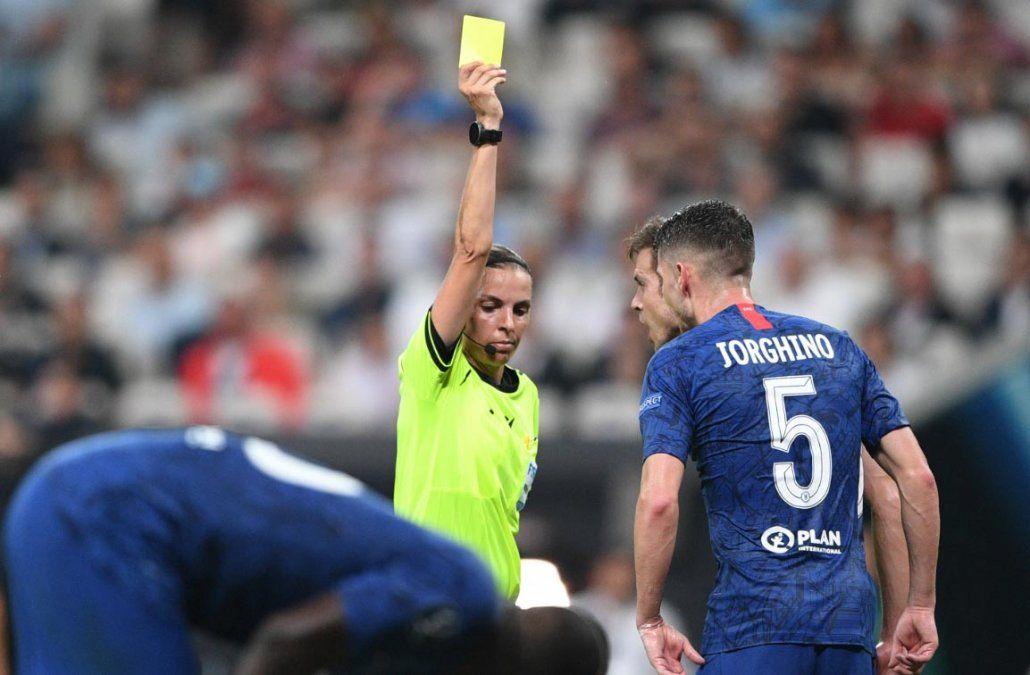 La final de la UEFA al mando de la árbitra Sthephanie Frappart