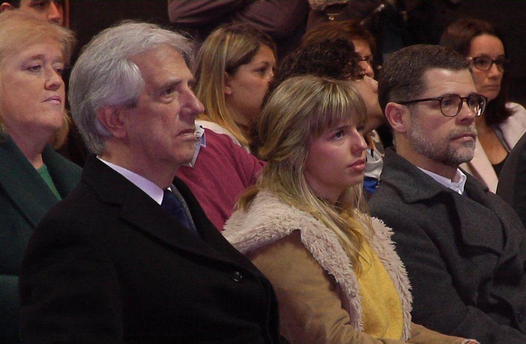 Con la presencia de Vázquez, se realizó el lanzamiento de la Unidad de Salud Escolar
