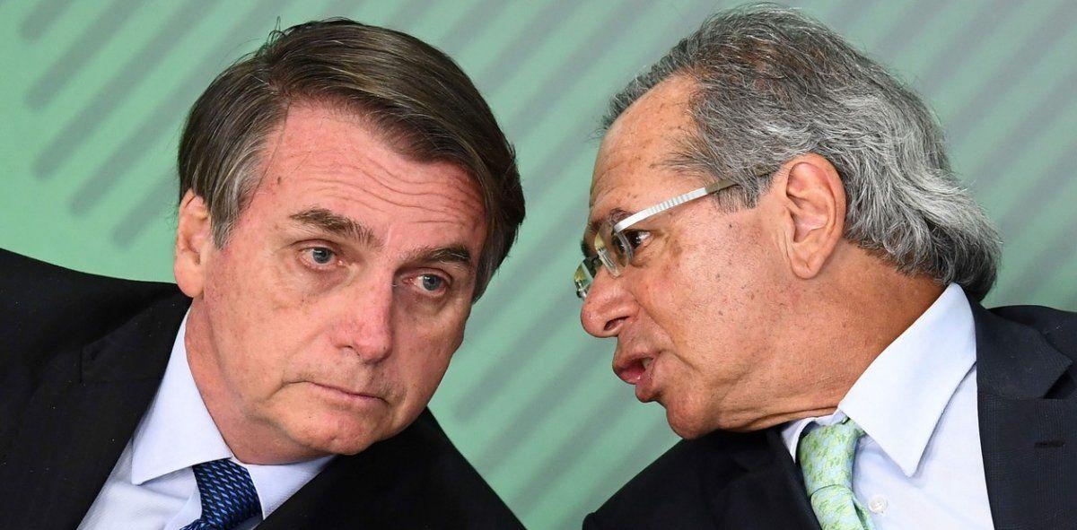 Bolsonaro y Guedes