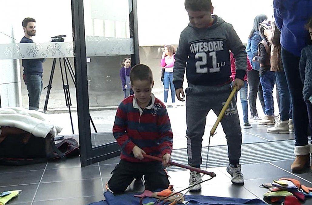 Más de 60 niños disfrutaron de su día en la Fundación Pérez Scremini
