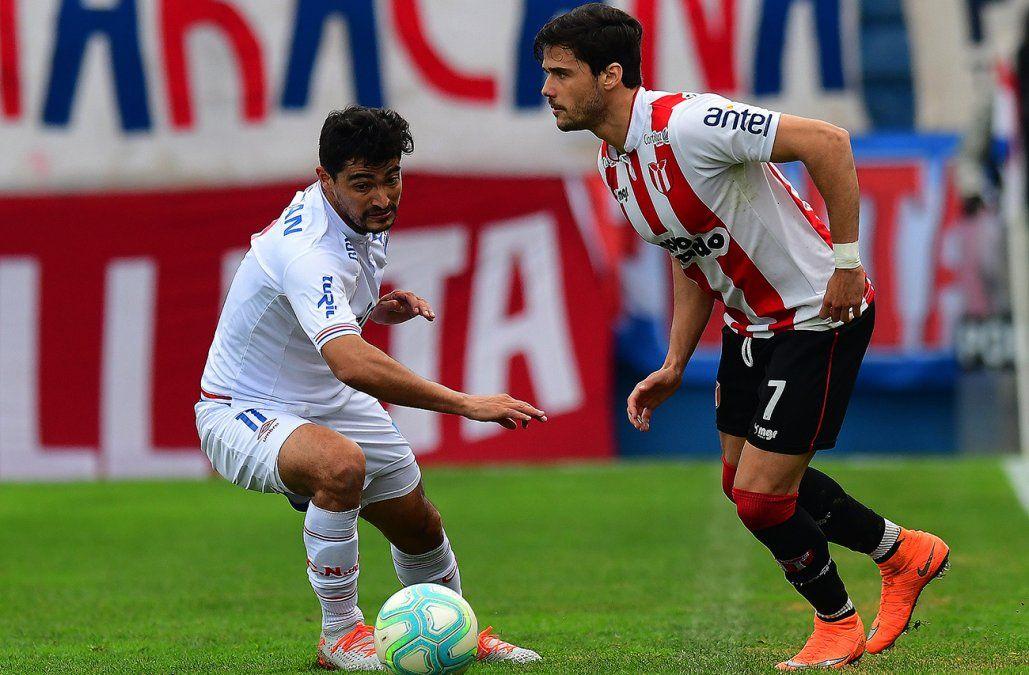 Nacional no pudo con River Plate y empató 1-1 en el Gran Parque Central