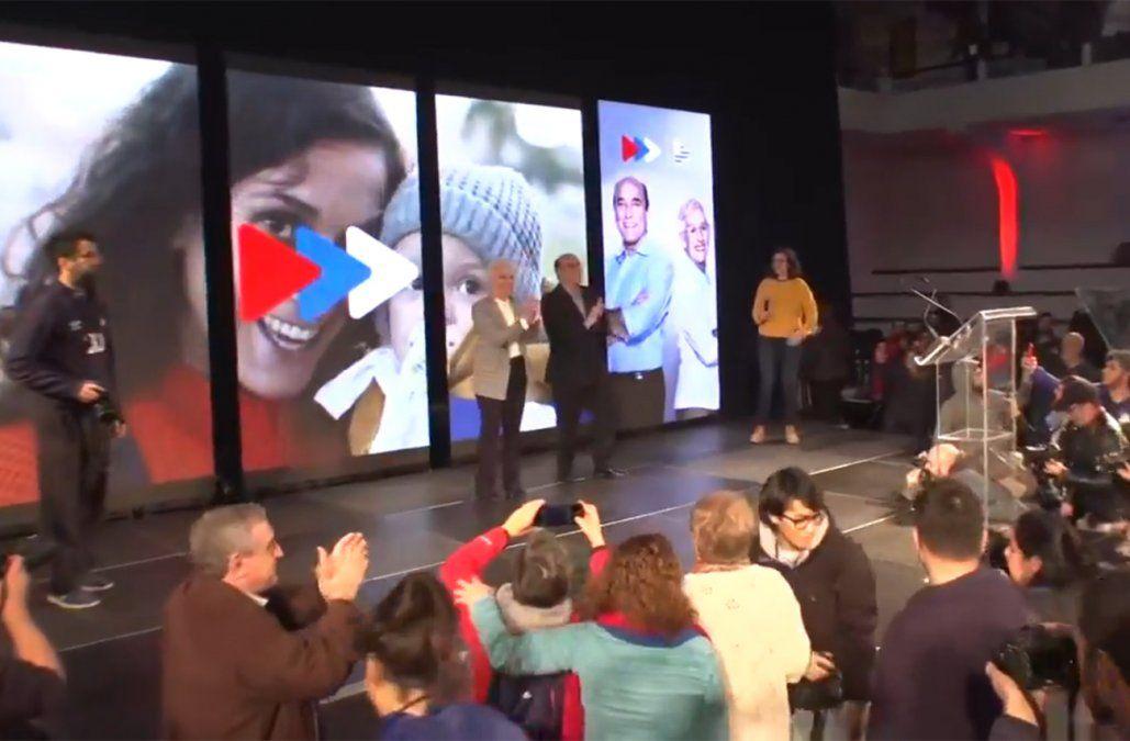 Frente Amplio proclamó la fórmula Martínez-Villar y estrenó nuevo jingle de campaña