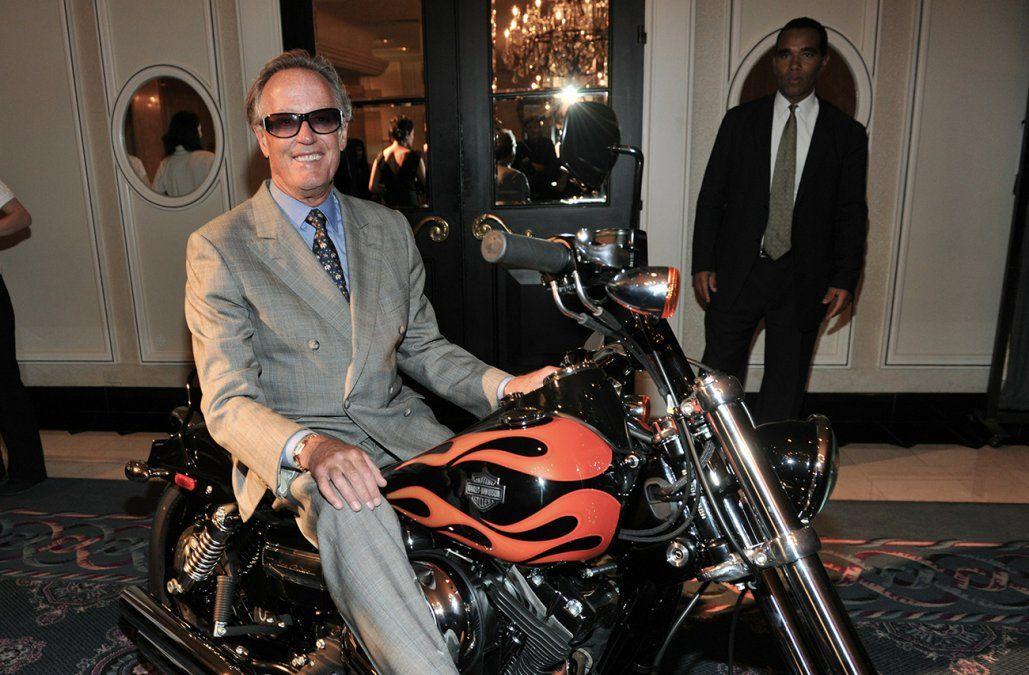 Falleció actor estadounidense Peter Fonda a los 79 años
