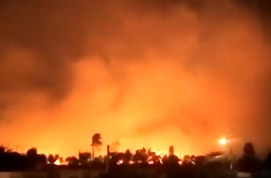 Declaran desastre departamental por incendios en el este de Bolivia
