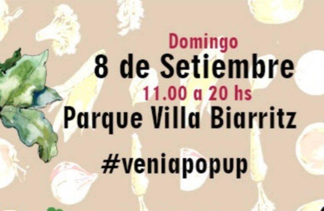 Montevideo Pop Up se realizará el 8 de setiembre en Villa Biarritz