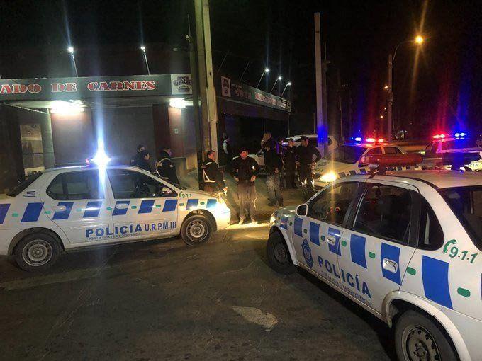 Un delincuente abatido por la policía tras robar una carnicería en  Sayago