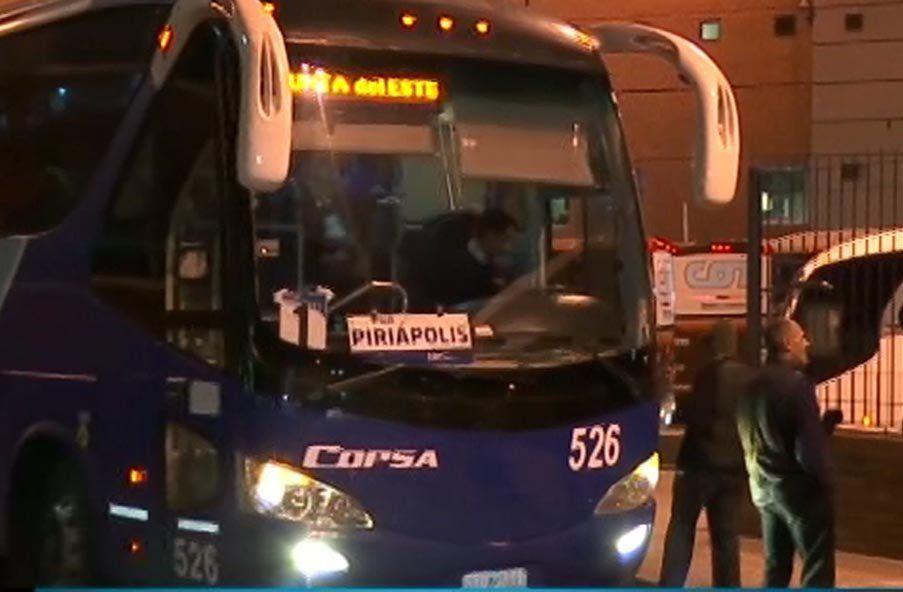 Funcionarios de Copsa bloquearon la salida de ómnibus de la terminal Tres Cruces