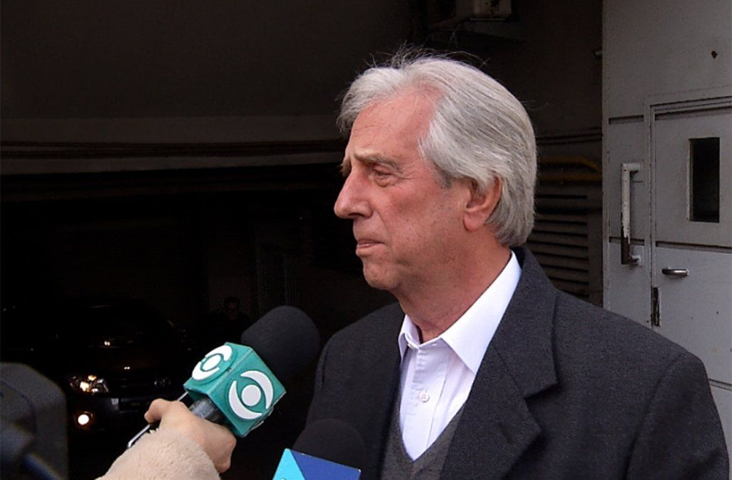 Me siento bien, tanto física como anímicamente, dijo Vázquez al recibir alta médica