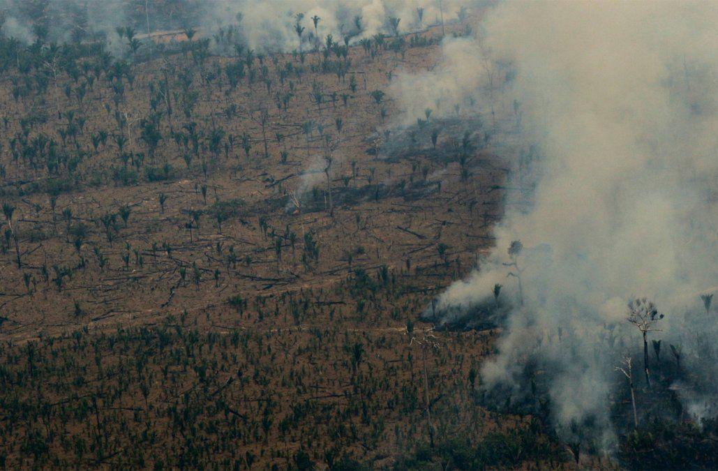 Brasil combate los incendios en la Amazonía tras nuevas llamaradas