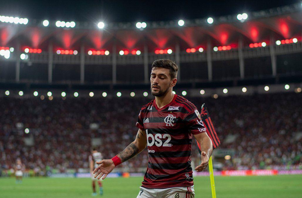De Arrasceta es ídolo en el equipo carioca