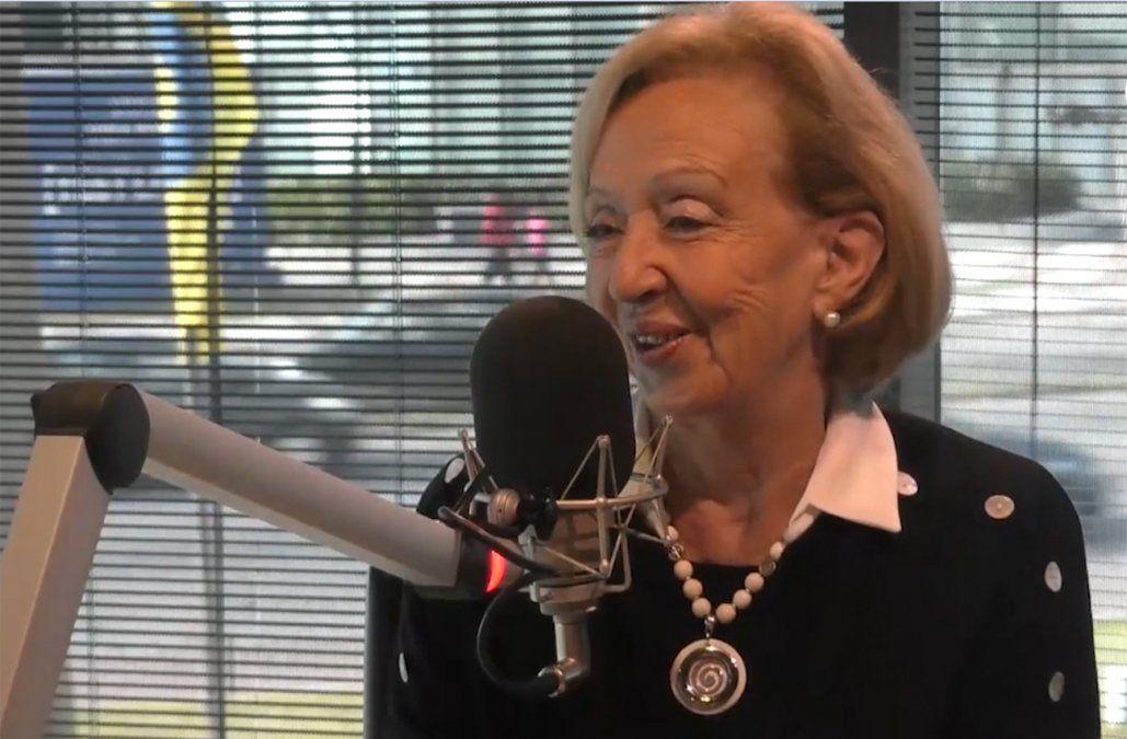 María Julia Muñoz apuntó contra Talvi, Lacalle Pou y el partido rosadito verdoso