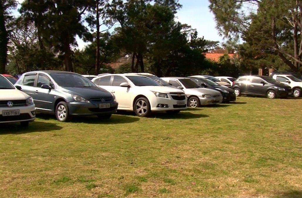 Más de 20 autos extranjeros robados incautados en Maldonado y otros 100 identificados