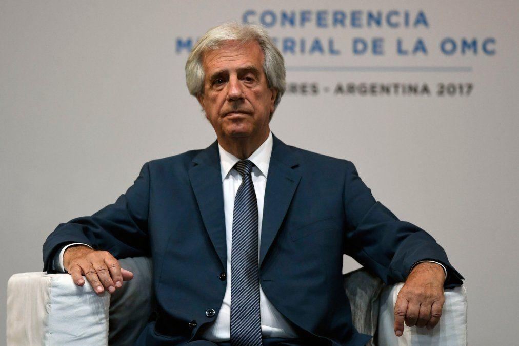 Tabaré Vázquez y un mensaje en año electoral: al Uruguay hay que quererlo un poquito más