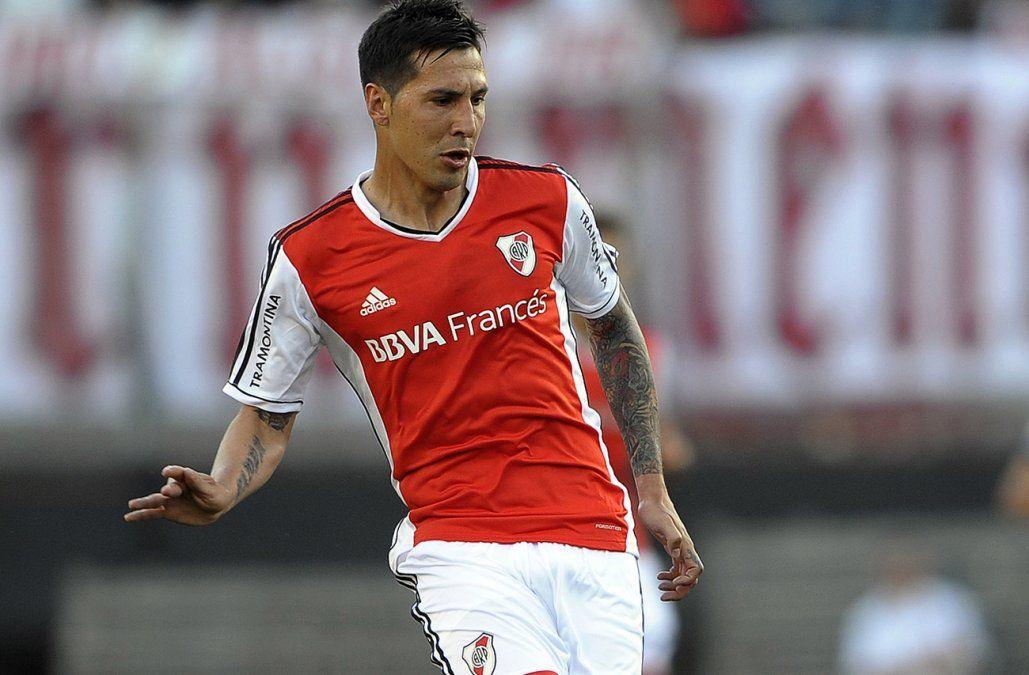 Fabbro en su paso por River Plate en 2014.