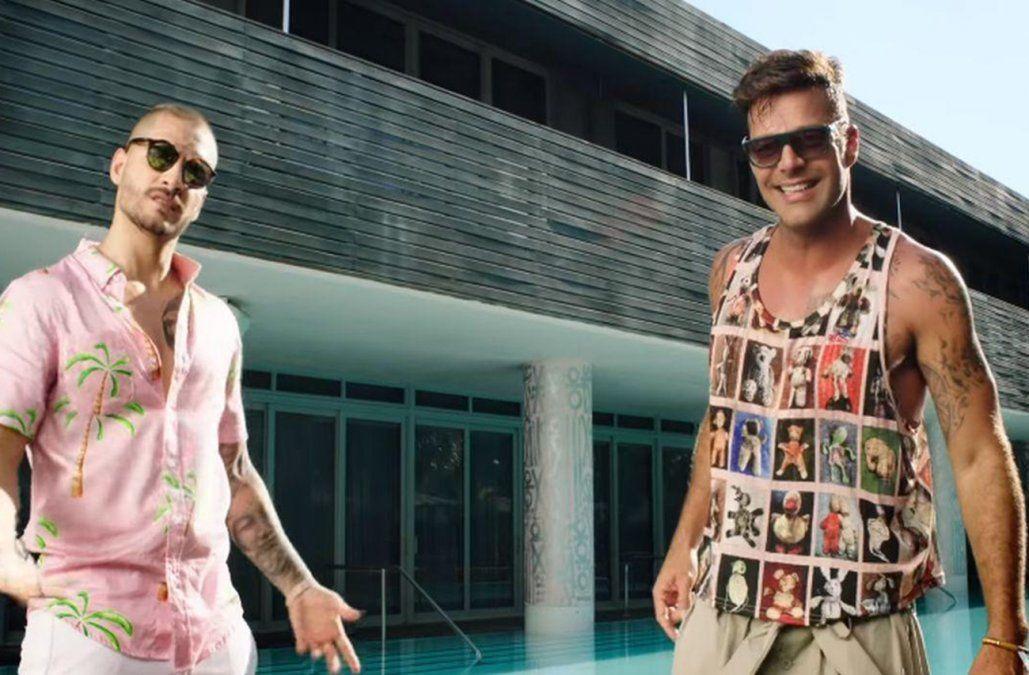 Maluma y Ricky Martin otra vez juntos: mirá el videoclip del nuevo hit No se me quita