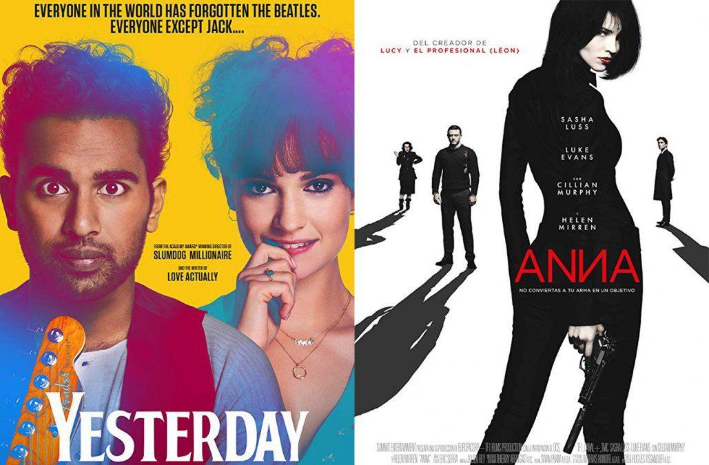 Yesterday y Anna: el peligro tiene nombre, lo que hay para ver en el cine