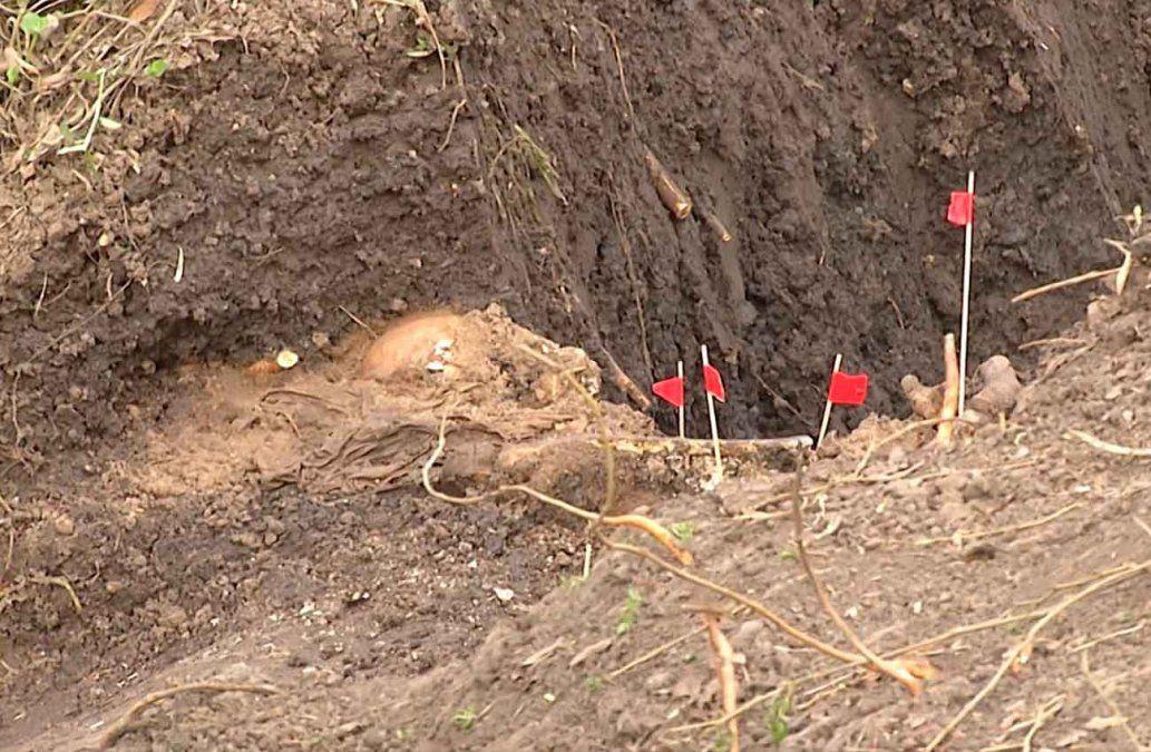 Antropólogos excavarán toda la zona cautelada del Batallón 13 en busca de más restos