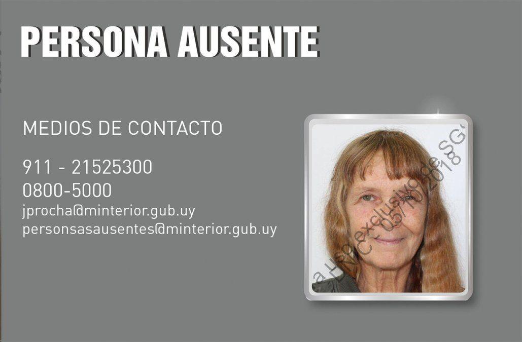 Embajada de Estados Unidos comunicó a Cancillería desaparición de una mujer de 70 años