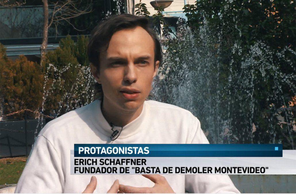 Erich protege el patrimonio, a través de Basta de demoler Montevideo