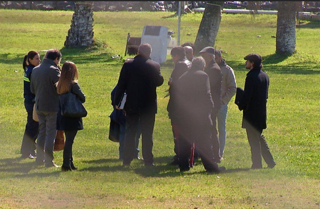Reconstrucción del crimen de Fiorito se realizó con los tres acusados que siguen presos