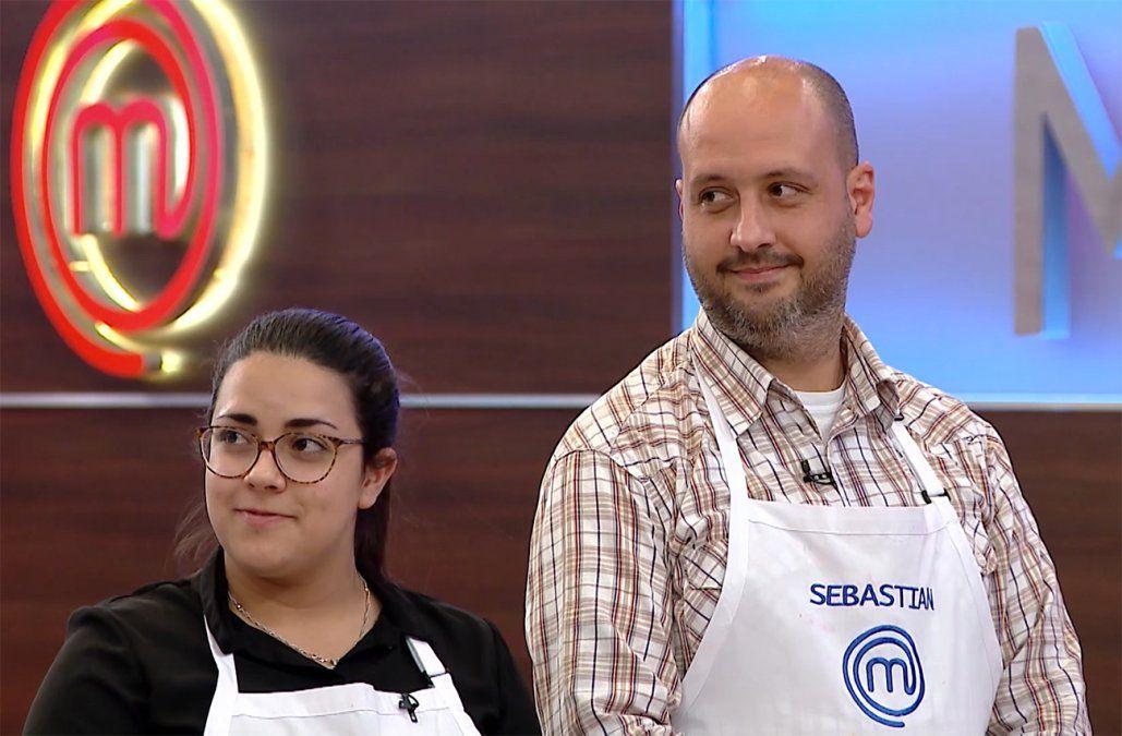 Natalia y Sebastián, los grandes finalistas de MasterChef Uruguay