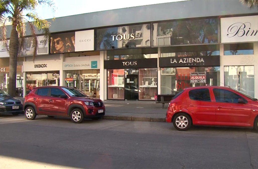 Robaron US$ 50.000 en mercadería de una tienda en la exclusiva Calle 20