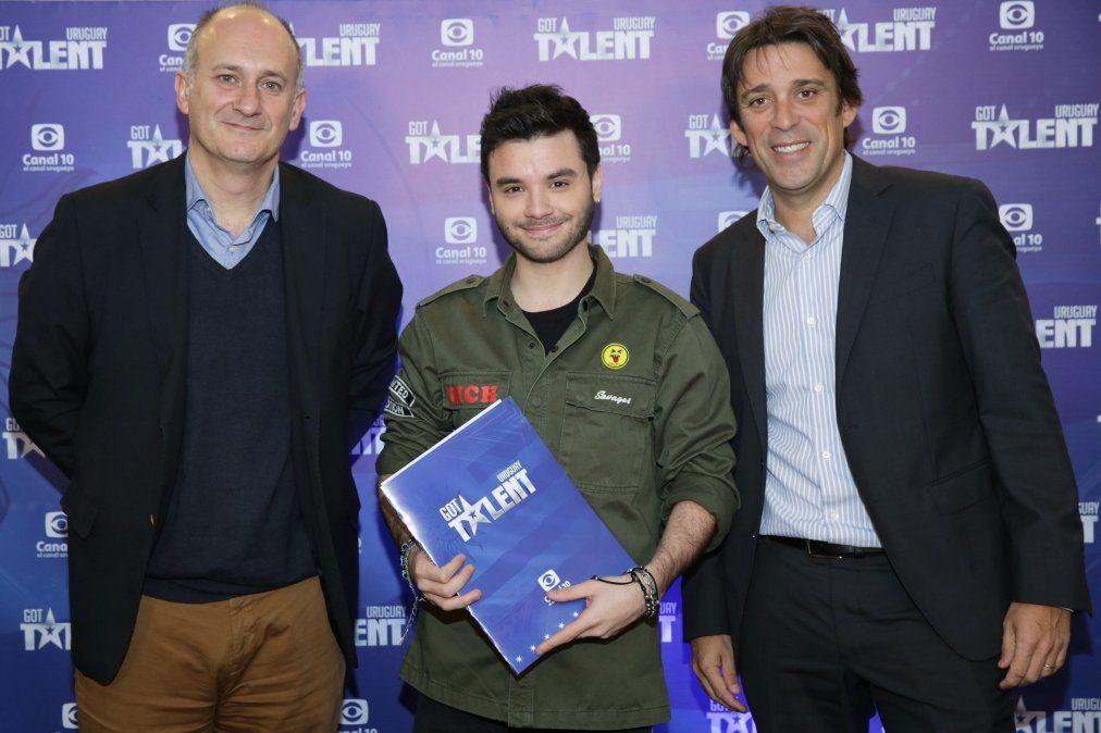 Agustín Casanova alienta a los uruguayos a presentarse a Got Talent Uruguay: Va a ser una oportunidad única