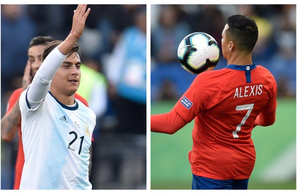 Argentina-Chile, un partido poco amistoso en Los Ángeles este jueves desde la hora 23