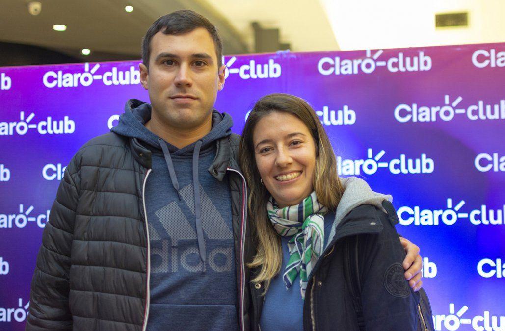 Gerardo Silva y Estefani Cabrera