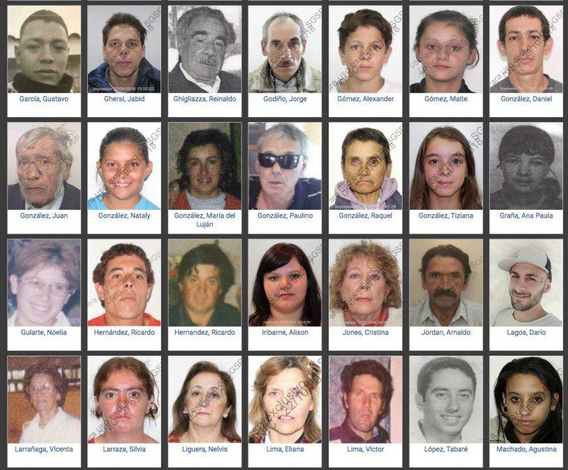 Policía crea registro de ADN de familiares de personas ausentes