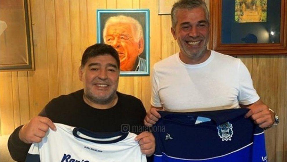 Diego Maradona será el DT de Gimnasia y Esgrima de la Plata