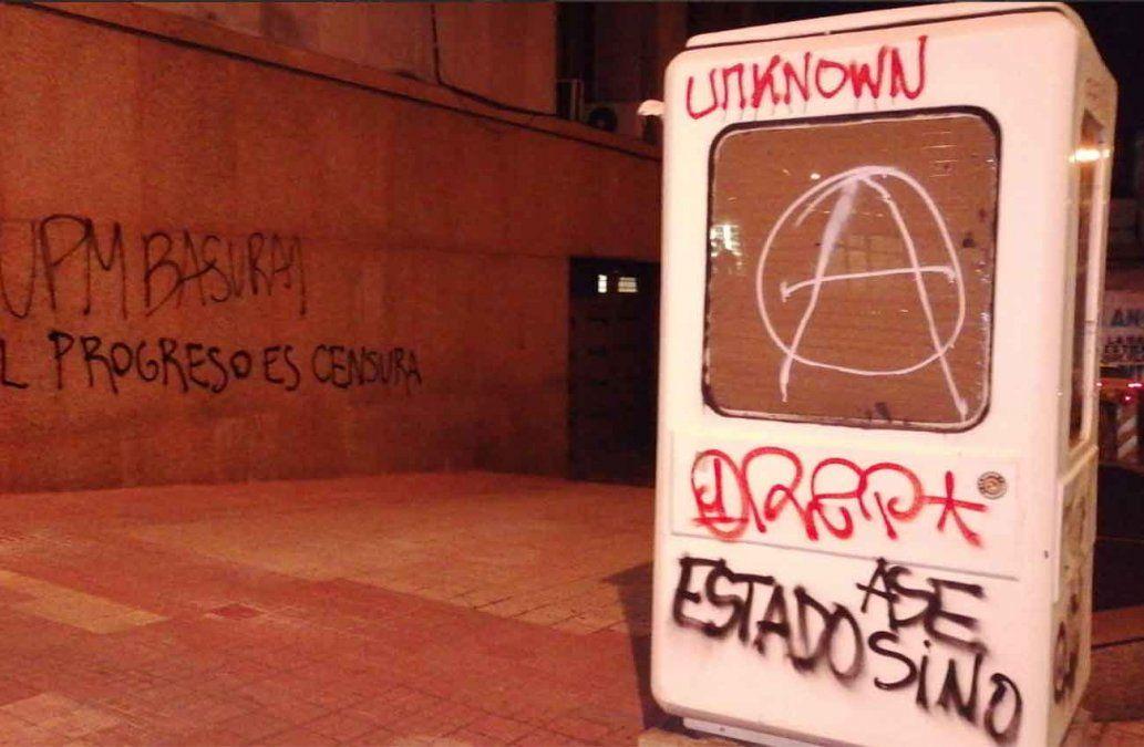 Seis personas permanecen detenidas tras incidentes en manifestación ambientalista