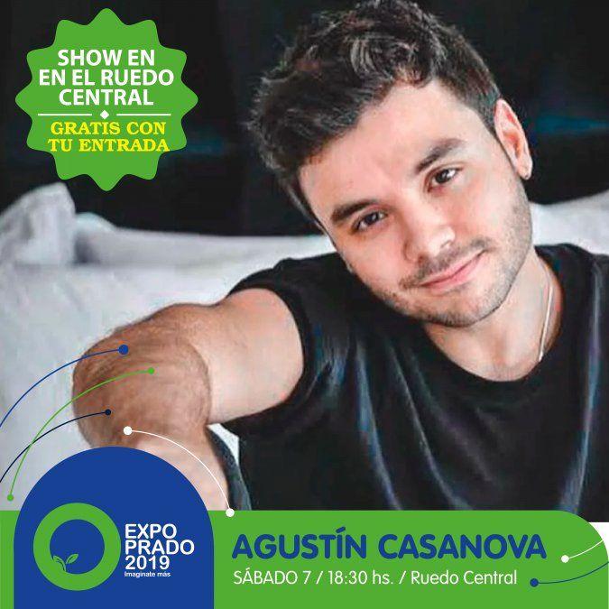 Este sábado Agustín Casanova inaugura los show del ruedo en  la Expo Prado