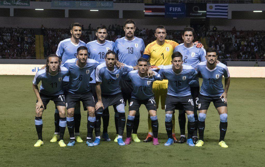 Uruguay derrota 2-1 a Costa Rica en partido amistoso en San José