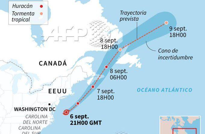 Dorian causa inundaciones en Canadá tras haber devastado Bahamas