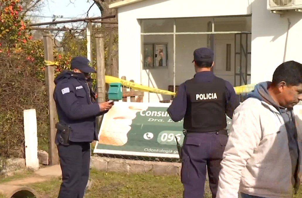 Vecinos de Castellanos se movilizaron pidiendo justicia por Luciana Bentancur