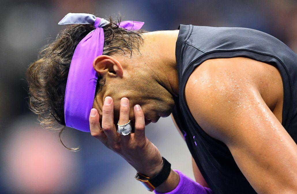 Lágrimas de Nadal al ganar el US Open: Cada victoria puede ser la última