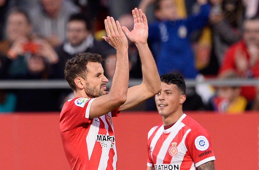 A Stuani los problemas judiciales no le afectan: hizo tres goles para el Girona