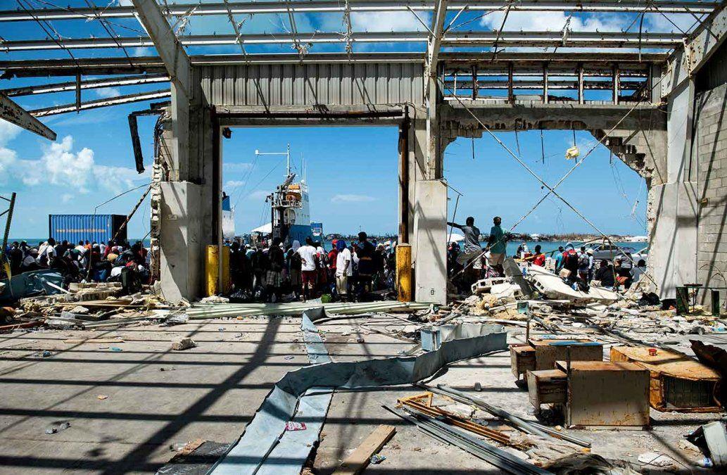 Tras la brutalidad del huracán Dorian, Bahamas enfrenta una crisis de desplazados