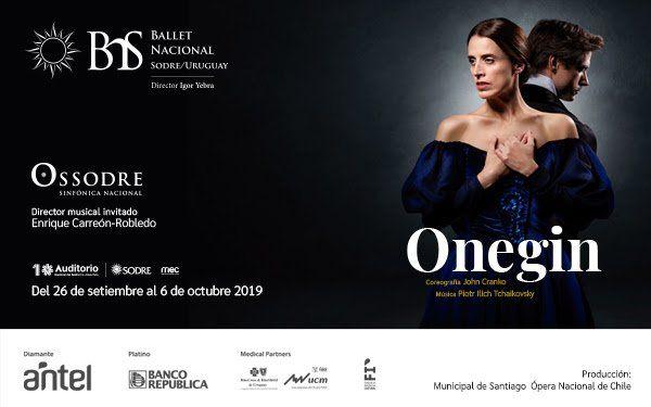 El Ballet Nacional Sodre estrena en setiembre Onegin
