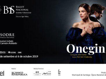 """El Ballet Nacional Sodre estrena en setiembre """"Onegin"""""""