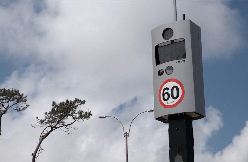 Colocan radares fijos en rutas nacionales para controlar el exceso de velocidad