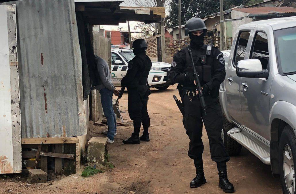 Operativo antidrogas en Casavalle terminó con tres detenidos y droga incautada