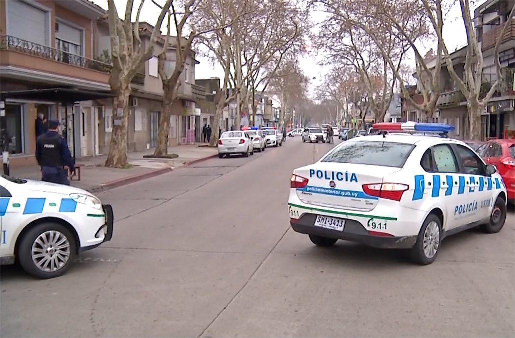 Despliegue policial en Jacinto Vera por femicidio y atrincherado resultó ser una denuncia falsa
