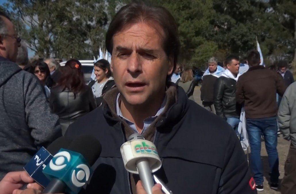 Lacalle Pou responde a Martínez: no es conveniente ni necesario aumentar impuestos