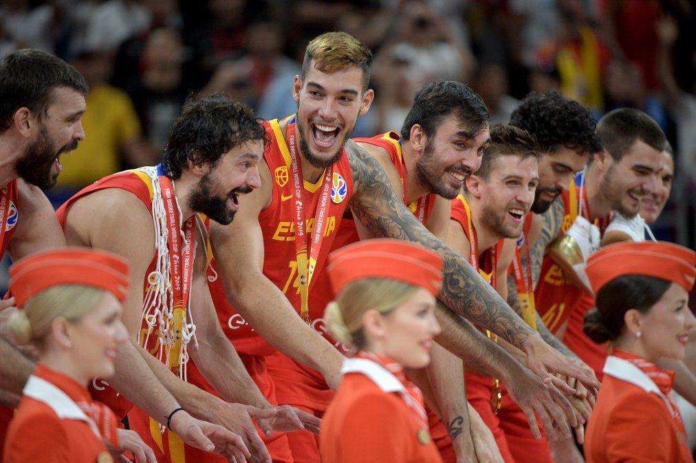 España gana 95-75 a Argentina y conquista su segundo Mundial de básquet