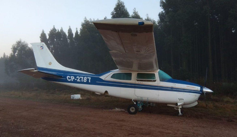 Una avioneta apareció abandonada en un camino vecinal de Paysandú