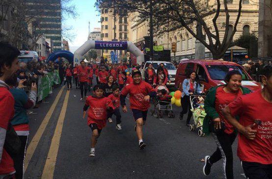 Este sábado se realizó una nueva edición de la INJU 5K con 27.000 corredores