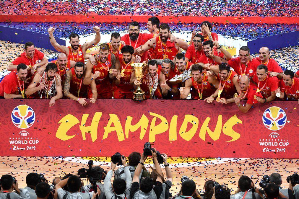 España, campeona mundial de básquetbol por segunda vez